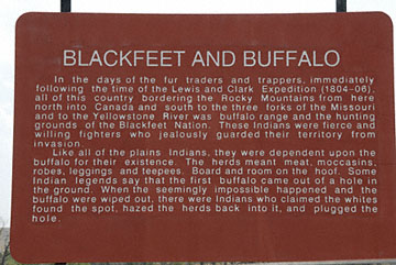 blog TAKE 93 To Yellowstone, 89S, Sign, Blackfeet 26875-8.4.07.jpg