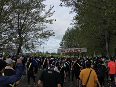 モエレ沼リレーマラソン