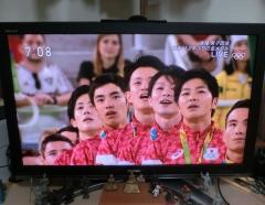 日本体操男子金メダル