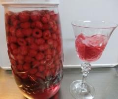 ラズベリー酒