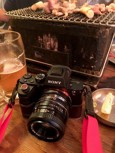 α7RⅡ+ RICOH XR RIKENON 50mm F2