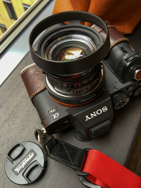 α7RⅡ + LM-EA7 + Voigtlander NOKTON Classic 40mm F1.4 MC