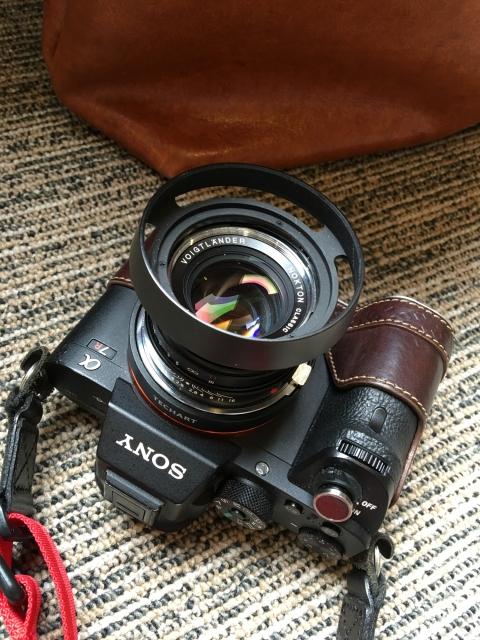 α7RⅡ + Voigtlander NOKTON Classic 40mm F1.4 MC