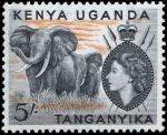 ケニア・ウガンダ・タンガニーカ・象(1954)