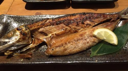 大阪通天閣新世界いるり串カツ炉端焼きサバの吟醸焼き