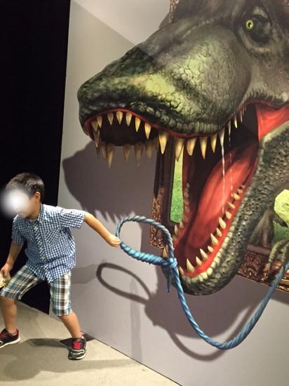 ken トリック恐竜