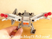 レゴ変形ロボット さらに飛べるようにしてみた(笑)