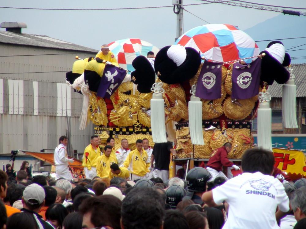大江対中須賀太鼓台の喧嘩