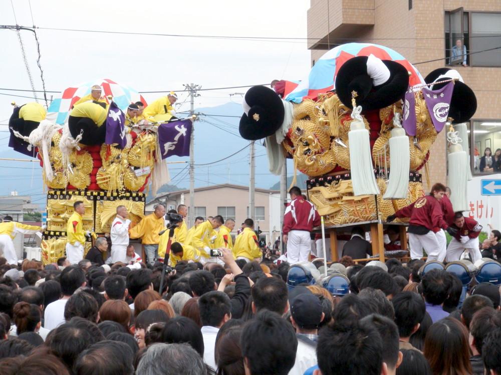 大江vs中須賀太鼓台の喧嘩