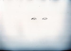 山田孝之の鉛筆画似顔絵途中経過