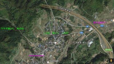 高野辰之記念館地図