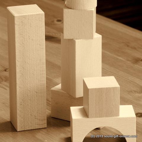 ブロックタイプ積木