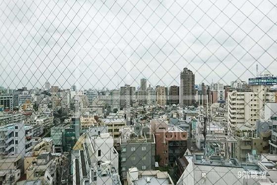 唐橋ビル-9階眺望