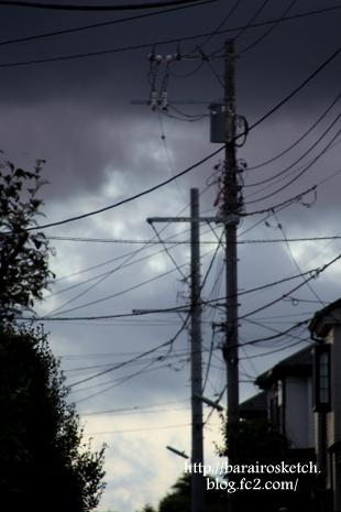 台風通過後2