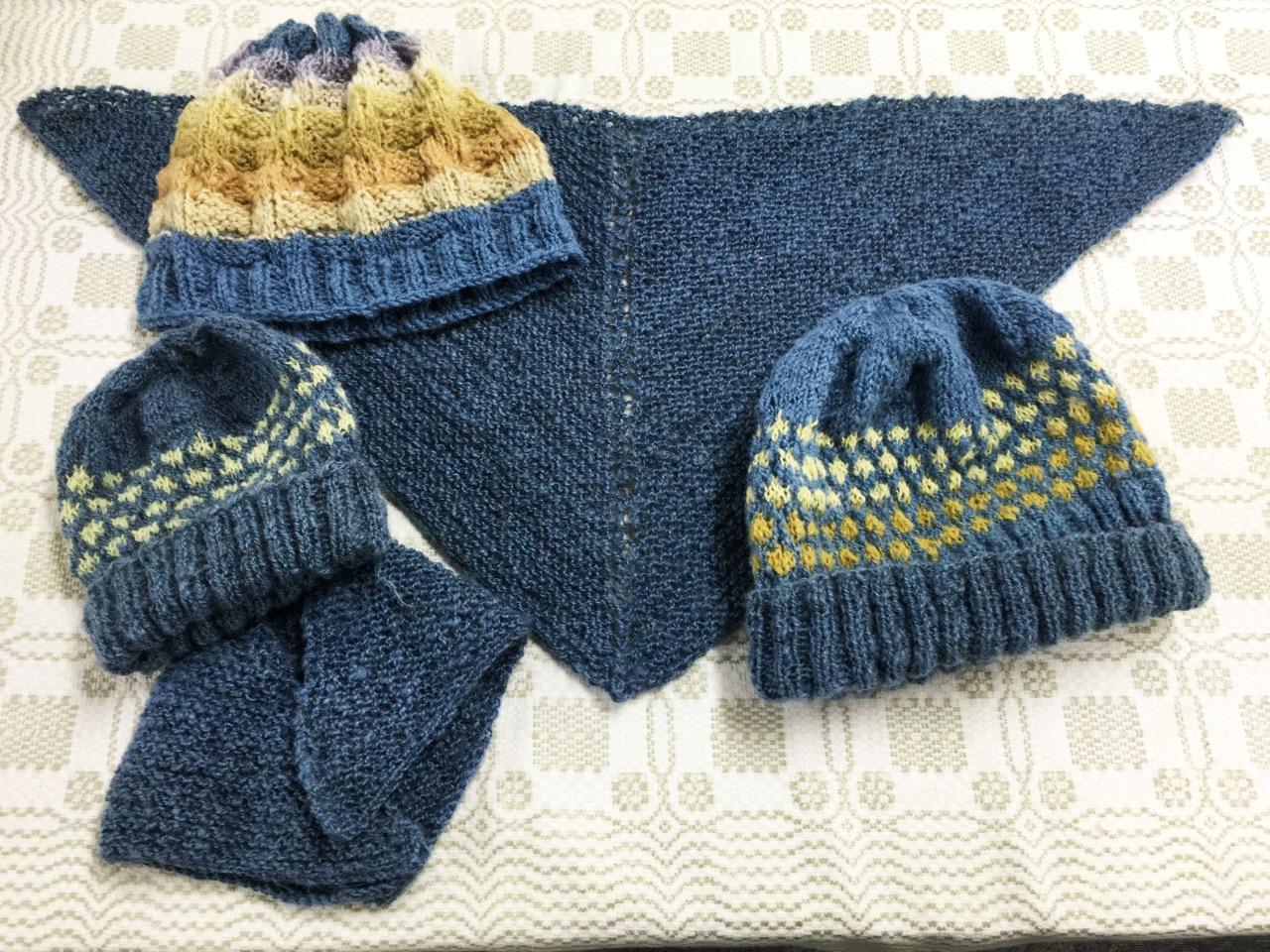 Knitting With Handspun : Knitting with handspun清瀬 タリフさんの工房でのレッスン