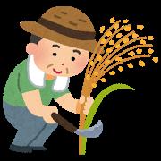 秋・稲刈り