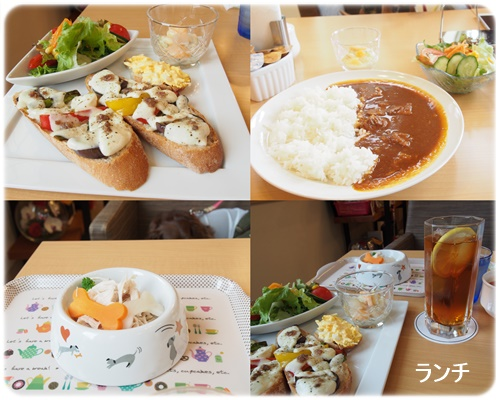 Cafe Milky ランチ