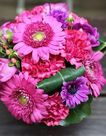 誕生日 花束 バラ ユリ サプライズ