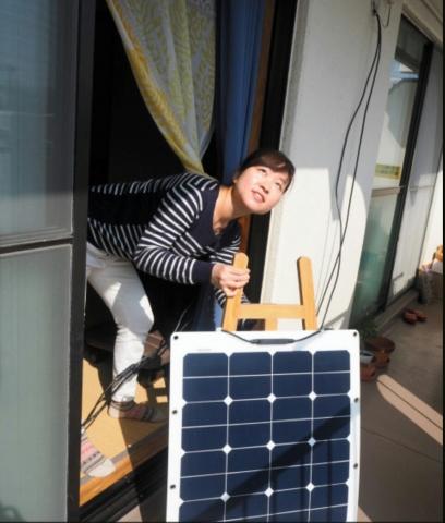 【マイ電力】「ベランダ発電」広がる 装置はネット通販、自力で設置