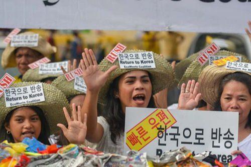 【韓国ゴミ不法輸出】グリーンピース、フィリピンに不法輸出された韓国廃棄物の放置現場を公開(中央日報)