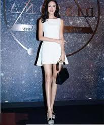 【いいね!】世界一?脚が長い中国人美女モデルの董蕾(ドン・レイ[Dong Lei])さん!