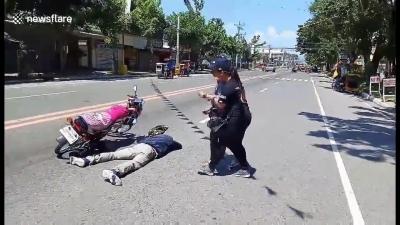 【いいね!】彼氏がバイク事故で死んだ・・・現場に行ったら!