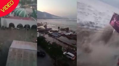 【衝撃!】インドネシア・スラウェシ島で大地震発生・・・大津波にも襲われた!