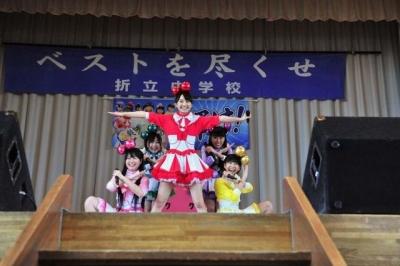 【芸能人サプライズ(学校編)】ももクロサプライズ登場で小中生が大興奮!