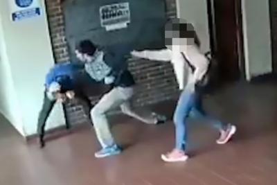 【Fight!】娘に性的暴行を加えた教師を父親がフルボッコ!