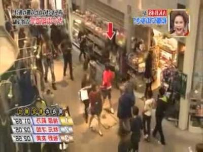 【芸能人サプライズ(ロケ編)】AKBメンバーを商店街に放出・・・気づかれるか?