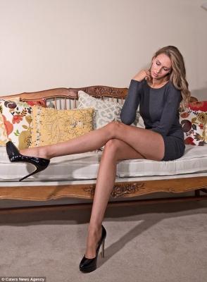 【いいね!】全米一?脚が長い美女モデルのローレン・ウィリアムズさん!
