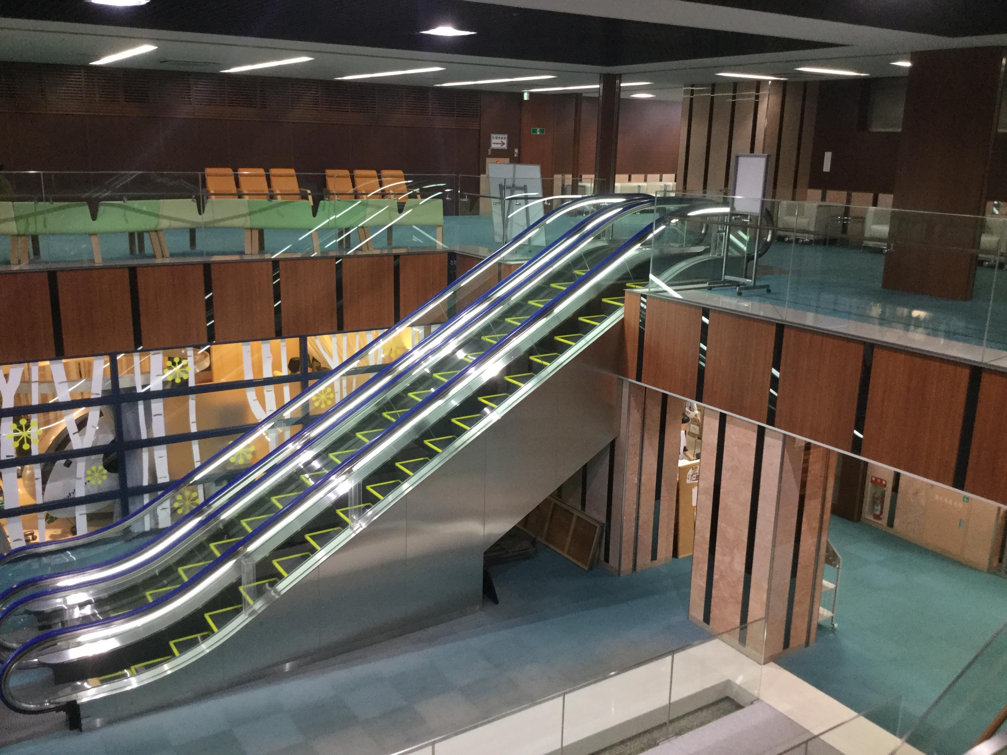 会津中央病院エレベーター