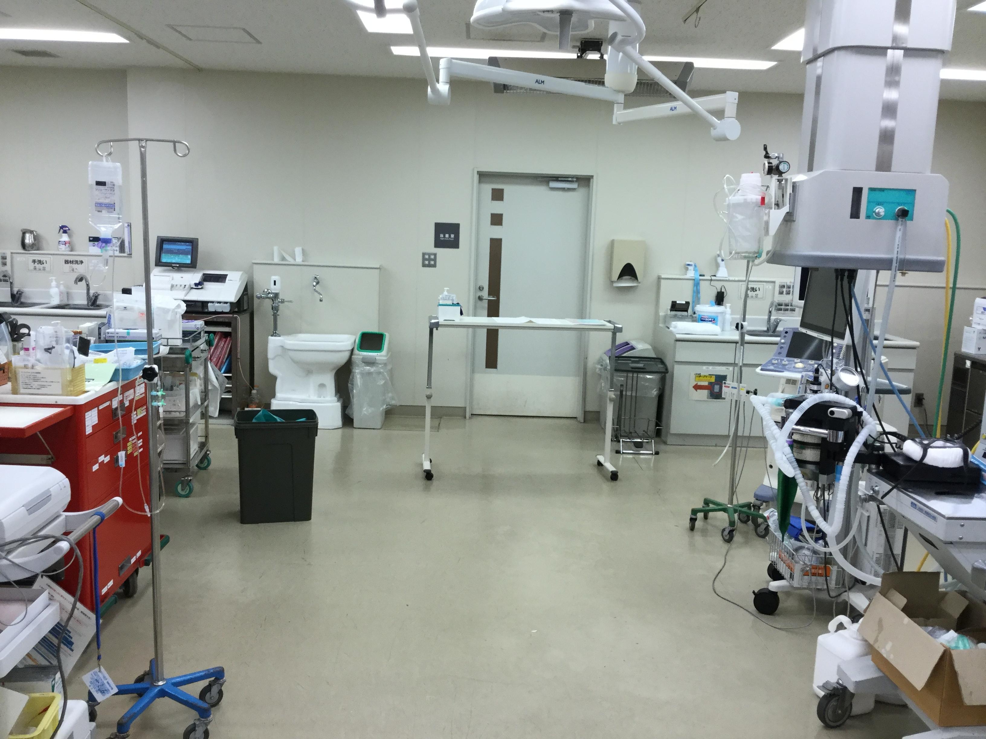 福山市民病院救命救急センター内1