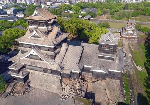 熊本城の被害状況