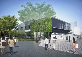 JR原宿駅建て替え案
