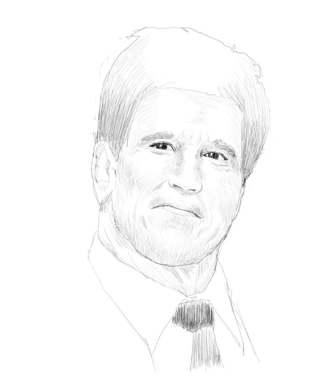 絵が上手くなるために色々な物を描くためのブログ 外国人男性の顔を ...