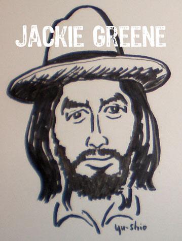 Jackie Greene caricature
