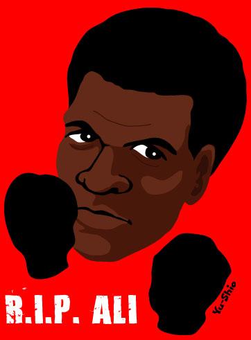 Muhammad Ali caricature