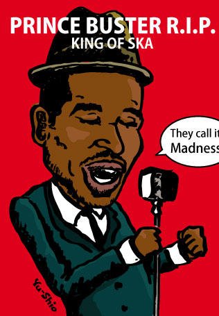 Prince Buster caricature
