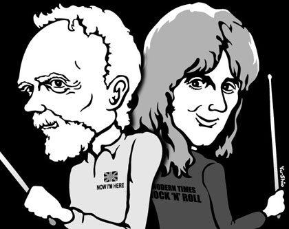 Roger Taylor Queen caricature