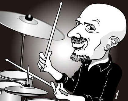 Steve Smith Journey caricature