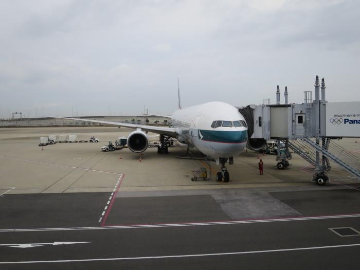 CX503 関西 香港