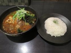 スープカリー ヒリヒリ2号 北海道牛すじと焼き豆腐かりー 札幌