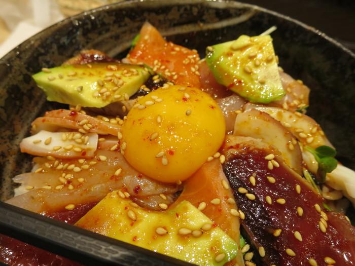 海鮮ユッケ丼 新梅田食道街 しおい