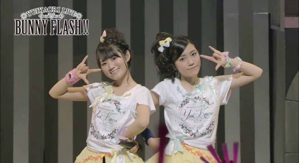 ゆいかおりlive Bunnyflash!!