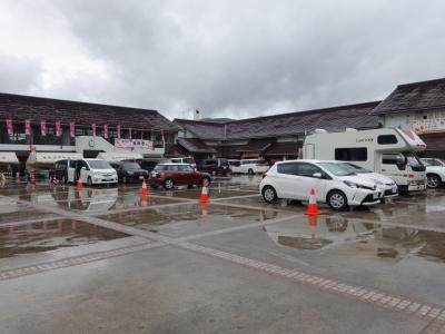 道の駅かづの・あんとらあ 駐車場