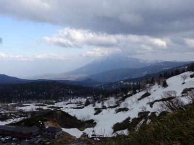 八幡平 藤七温泉付近より岩手山