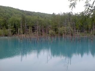 青い池今は?