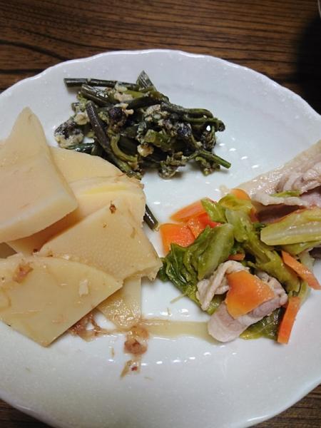 26年初山菜料理