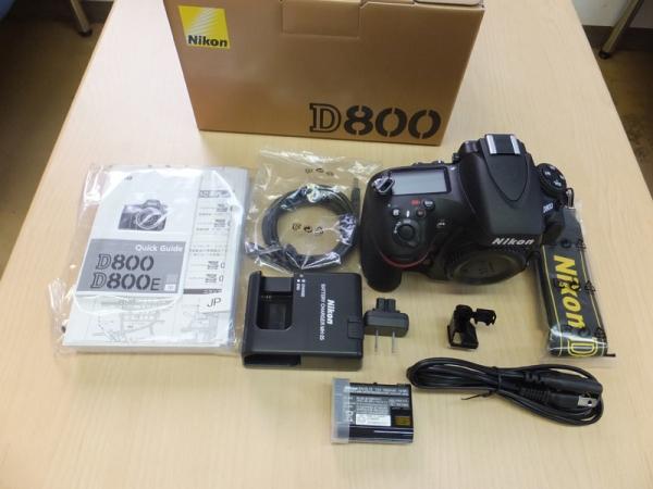 D800と付属品